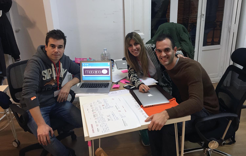 Mi equipo en Allstartup de Demium Startups