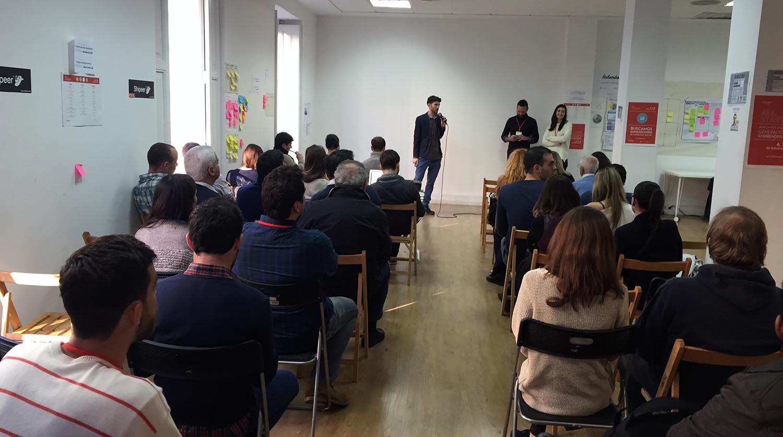 Las presentaciones finales de Allstartup en Demium Startups