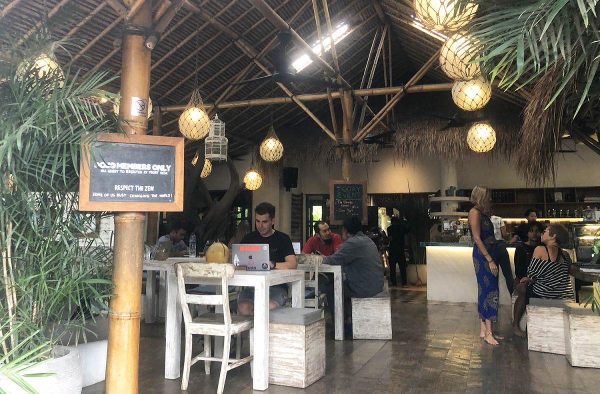 Dojo coworking en Bali