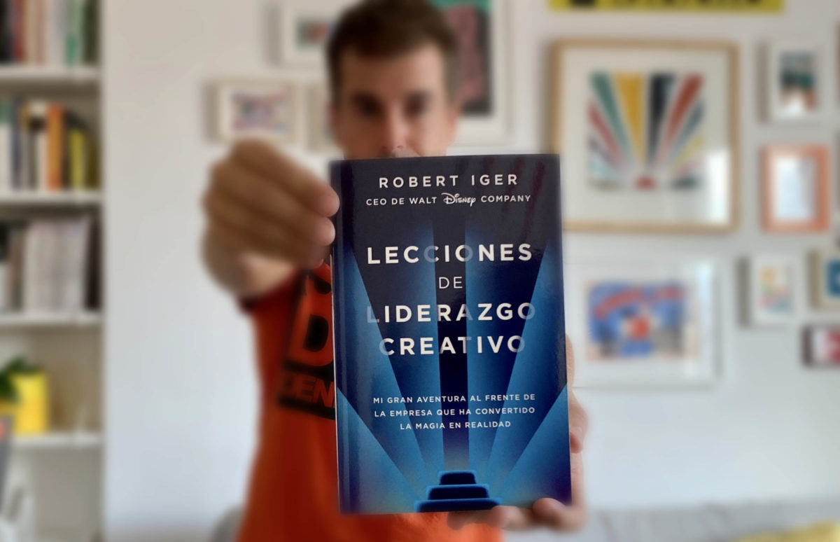 Lecciones de liderazgo creativo, de Robert Iger